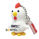 EKMMD4GM320 4Gb USB 2.0, Chicken, EMTEC
