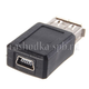 USB Переходник USB Mini, 5piN(M) -->; USB (AM)