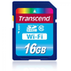 Transcend 16Gb SDHC Card Class 10 SD-WiFi