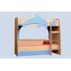 Детские комнаты, Комнаты для подростков:Двухъярусные кровати:Кровать двухъярусная детская Витамин А, МДФ матовый.
